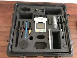 Fitel S121 Cust 2 Fiber Optic Cable Wire Splicer With Some Accessories Case