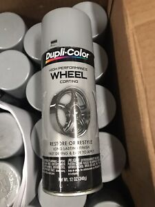 Dupli Color High Performance Wheel Coating Silver Automotive Paint