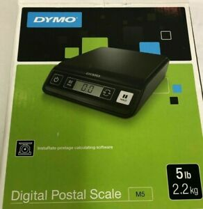 New Dymo Digital Postal Scale Up To 5 Lbs Free Shipping