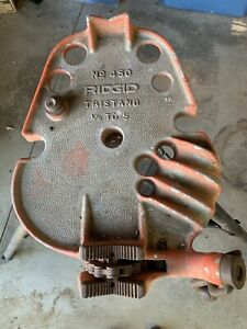 Vintage Rigid 450 Tristand Chain Pipe Vise 1 8 5