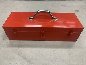 Vintage Large Snap On Kra251a Tools Metal Storage Tool Box Tray Container
