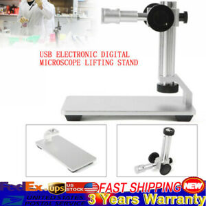 360 Rotate Aluminum Alloy Stand Holder Lifting Bracket For Digital Microscope