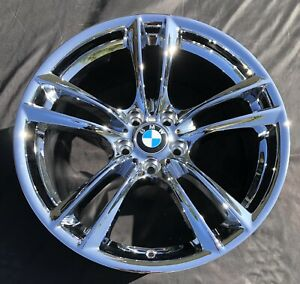 4 New Chrome 20 Bmw 740i 750i 760i 535i 550i Style 303 Oem Wheels Rims 71379