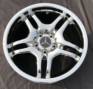 4 New Chrome 17 Mercedes Amg Clk Oem Factory Wheels Rims 65390
