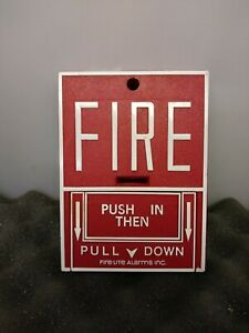 Fire lite Bg 10l Fire Alarm Pull Station