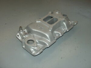 Weiand Stealth Sbc Chevy Aluminum Intake Manifold 8016 Dual Plane High Rise