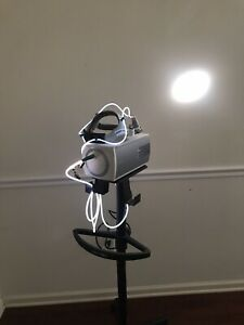 Integra Luxtec Ultralight Surgical Headlight W Luxtec Clx Light Source Stand