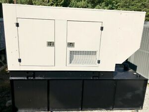 2008 Baldor Diesel Generator 100 Kw With Sound Attenuated Enclosure And Tank
