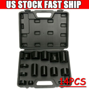 14pcs Master Ball Joint Adapter Set Removal Installer Service Tool For 2 4wd