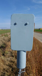 Electric Fence Charger Post Holder