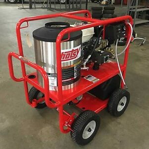 Used Hotsy 965sse Gas diesel 3gpm 3000psi Hot Water Pressure Washer Low Hours