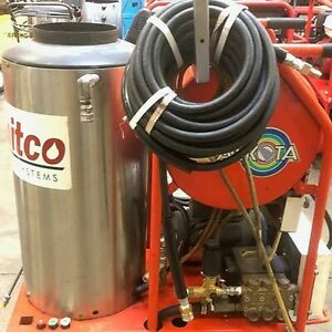 Used Alkota 1ph diesel 3gpm 2000psi Hot Water Pressure Washer