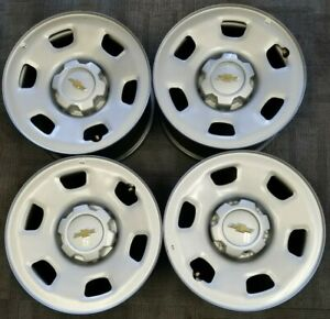 Chevy Gmc Colorado Canyon Factory Oem Steel Wheels Rims 2015 2019 16x7