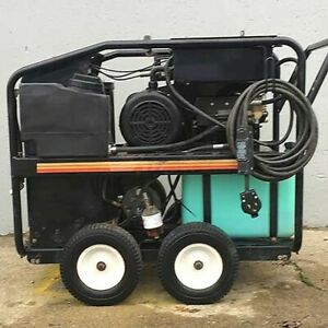 Used Mi t m Gh 2504 1ph diesel 3 2gpm 2500psi Hot Water Pressure Washer
