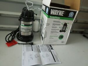 Wayne Cdu1000 1 Hp Stainless Steel Cast Iron Submersible Sump Pump Os