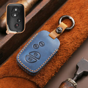Retro Leather Car Remote Key Fob Case Cover For Lexus Es350 Gs300 Gs350 Gs430