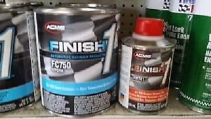 1 Quart Kit Finish 1 Satin Clear Coat Finish1 Fc750 And Fh741