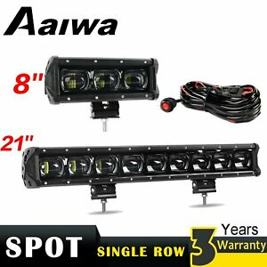 7 21 Led Work Light Bar Spot Offroad Atv 4wd Suv 4x4 Suv Driving Fog Lamp 6d