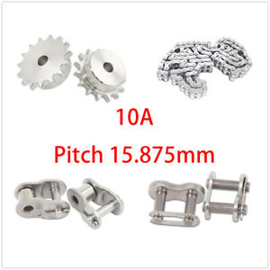 Stainless Steel 10 23 Tooth 10a Chain Drive Sprocket Roller Chain Chain Links