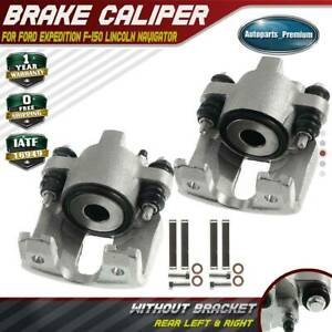 2x Disc Brake Calipers For Ford F 150 F 250 Expedition Navigator Rear Left right