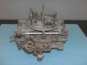 Holley 600cfm Vacuum Secondary 4 Barrel Carburetor 1850 2 Street Rod Core