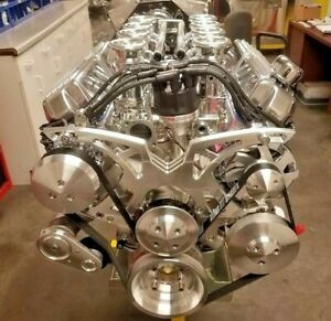 427 Ford Stroker Crate Engine 351 Windsor Borla Stacked Complete Turnkey 575hp