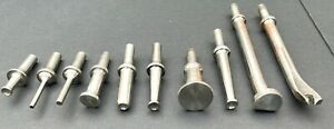 10 American Made Aviation Industry Speciality Steel Rivet Sets