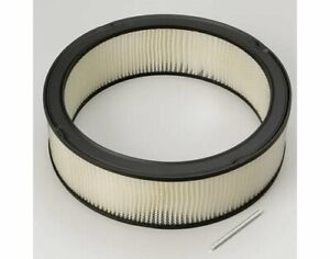 Moroso Replacement Air Cleaner Element Round 14 Od 4 H 97081