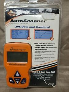 Actron Cp9575 Auto Scanner Live Data Graphing