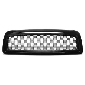 For 2009 2012 Dodge Ram 1500 Honeycomb Styling Front Bumper Grille Grill Glossy