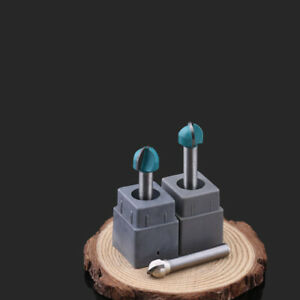 Milling Engraving Machine Carbide Cnc Router Bits Round End Wood Cutter Tool Tip
