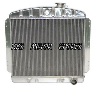 Kks 3 Row core Radiator 1949 54 Chevy Bel Air Fleetline Styleline Deluxe V8