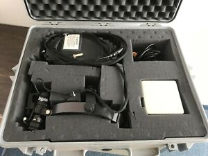 Indirect Ophthalmoscope W Hgm Laser Head Fiber Cable And Power Supply In Case