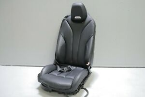 2015 2020 Bmw M4 F83 Convertible Front Right Passenger Seat Black Leather Oem