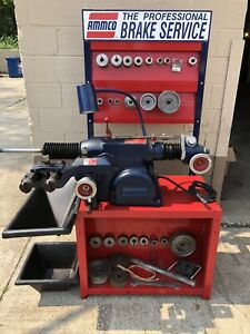 Ammco Brake Lathe 4100b Combination Disc And Drum With Stand