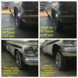1 Set Of 1958 1966 Chevy Impala Low Rider 2 5 Extended Ball Joint