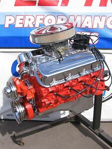 Chevrolet 454 450 Hp High Performance Turn key Crate Engine Chevy