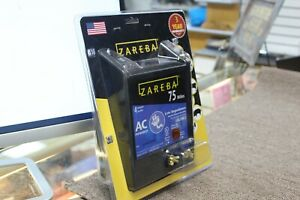 Zareba Eac75m z 75 mile Ac Low Impedance Electric Fence Charger New Sealed