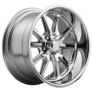 Us Mag 1pc Rambler 18x8 5x120 65 Chrome Plated 1 Mm Wheel