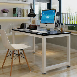 New Office Study Wood Computer Desk Workstation Laptop Table Furniture Home Usa