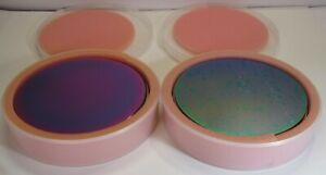 Lot Of 90 Various 8 Silicon Test Wafers With Oxides
