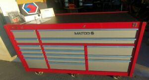 Matco 4s Custom 3bay 25 Powered Rollaway Tool Chest Box With Usb Ports Outlet