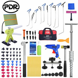 Pdr Car Body Paintless Dent Removal Puller Lifter Slide Hammer Line Board Tools