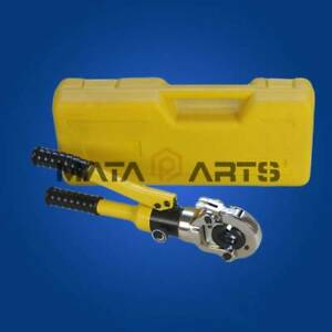 10t Hydraulic Pex Pipe Crimping Tools Pressing Plumbing Tools Connecting 16 32mm