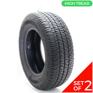 Set Of 2 Used 275 65r18 Michelin Ltx A T2 114t 9 5 10 32