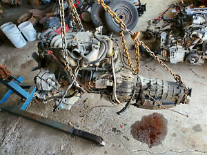 1986 Bmw 325es M20 Engine With Automatic Transmission E30 2 7l