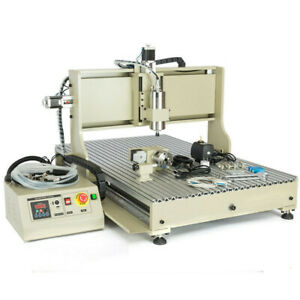 Usb 4 Axis Cnc 6090 Router Engraver Wood Machine Milling Drilling Controller