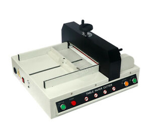 110v 330mm Desktop Electric A4 Paper Cutter Automatic Paper Cutting Machine
