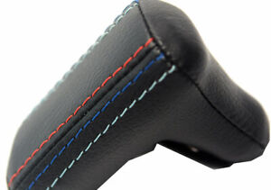 Automatic Shift Gear Knob Cover Leather For Bmw E30 1981 1991 M Type Stitch