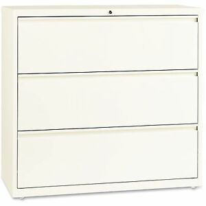 Lorell Lateral File 3 drawer 42 x18 x40 Cloud 22956